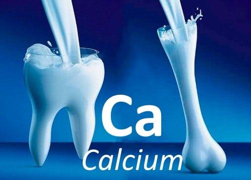 Кальций (Ca): роль в организме и где содержится