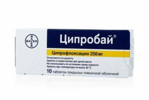 Ципробай таблетки