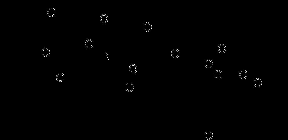 Структурная формула Джозамицина