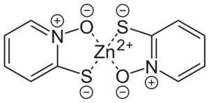 Структурная формула Пиритион цинка C10H8N2O2S2Zn