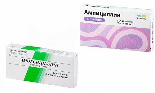 Амоксициллин или Ампициллин