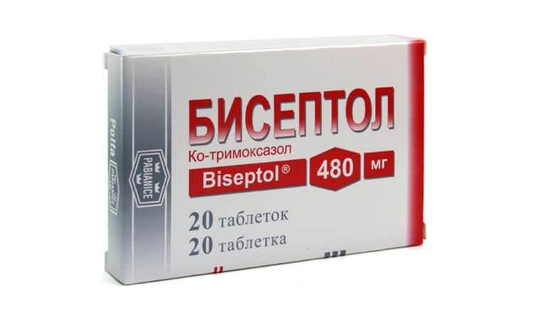 Флемоксин Солютаб или Бисептол