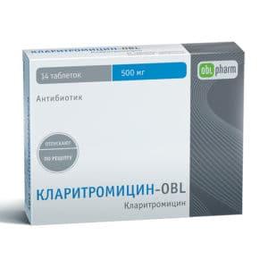 Кларитромицин-OBL