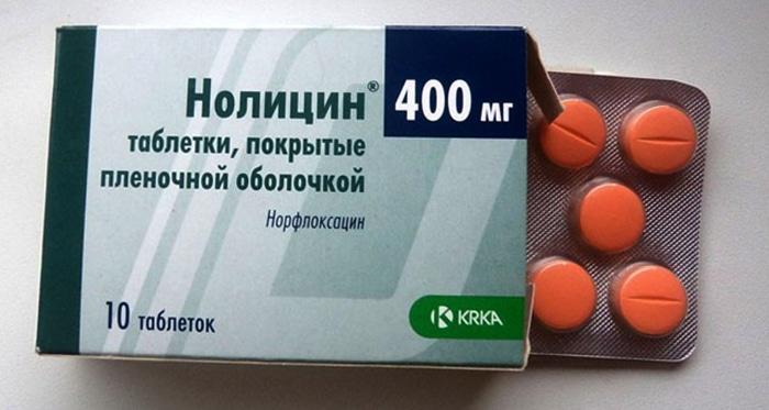 Ципролет или Нолицин
