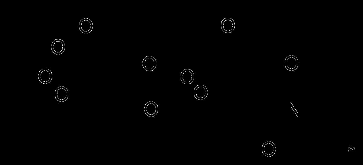 Структурная формула Гиалуроновой кислоты C28H44N2O23