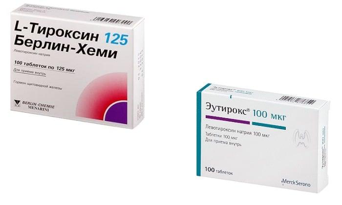 Что лучше: L-Тироксин или Эутирокс