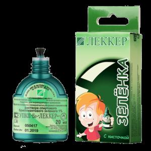 Зеленка Леккер