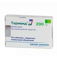 Таривид таблетки