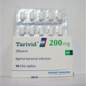 Таривид 200 мг 10 таблеток