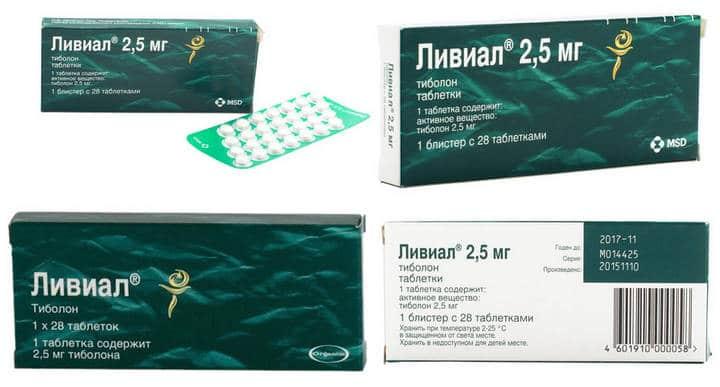 Таблетки Ливиал