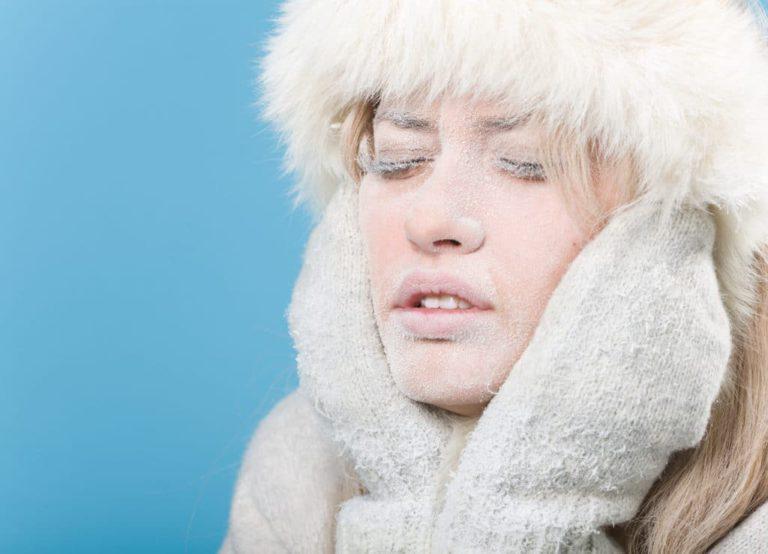 Обморожение лица — происки снежной королевы