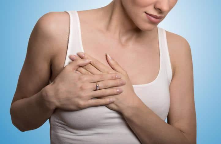 Боль в груди во время беременности — что делать?