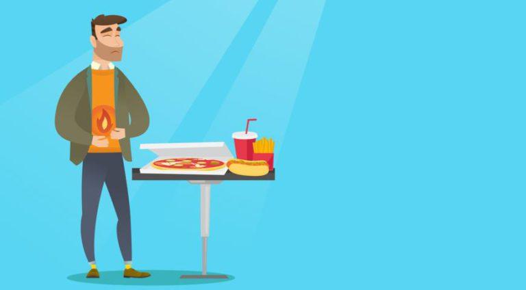 Изжога после еды — что делать?