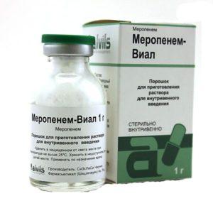 Меропенем антибиотик