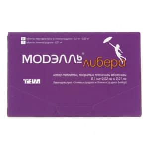 Контрацептивные таблетки МОДЭЛЛЬ ЛИБЕРА