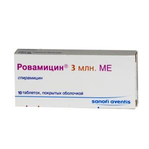 Ровамицин 3