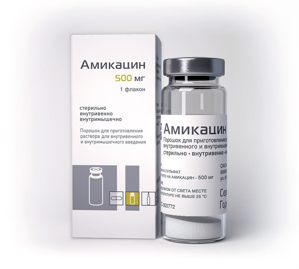 Гентамицин или Амикацин