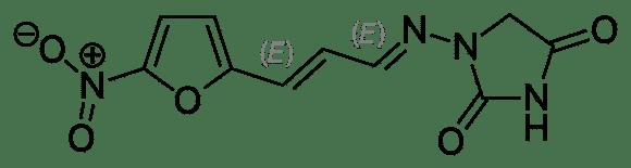 Структурная формула Фуразидина