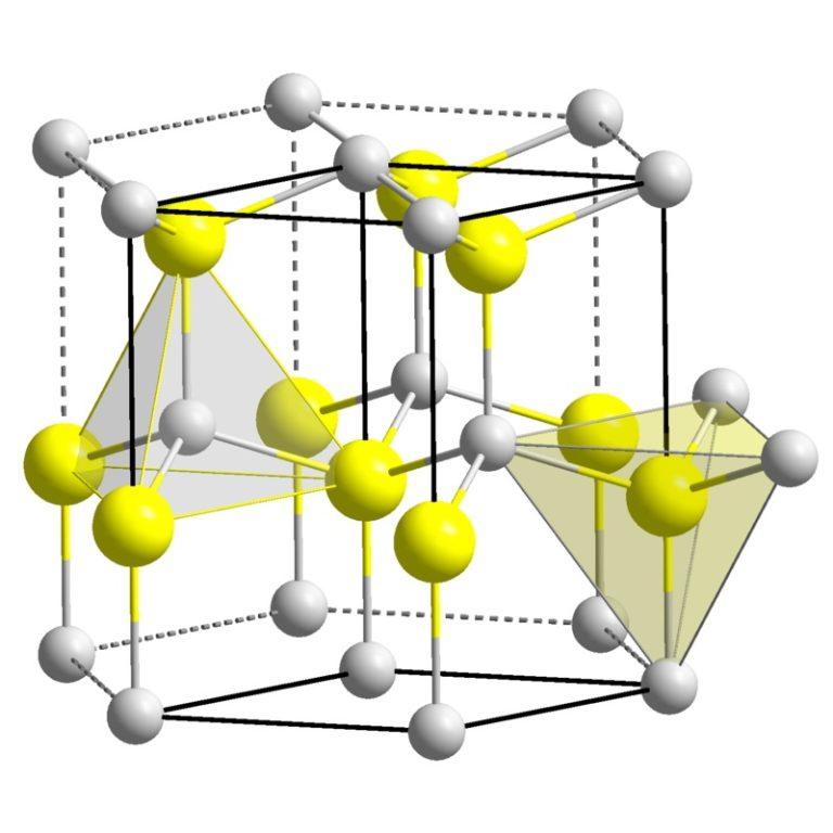 Структурная формула Цинка оксида ZnO