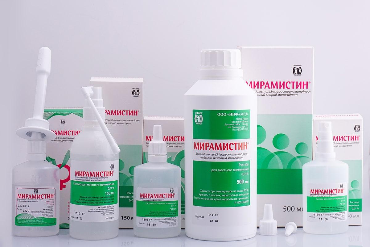 Хлоргексидин или Мирамистин