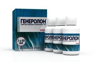 Генеролон: инструкция по применению спрея для волос и отзывы