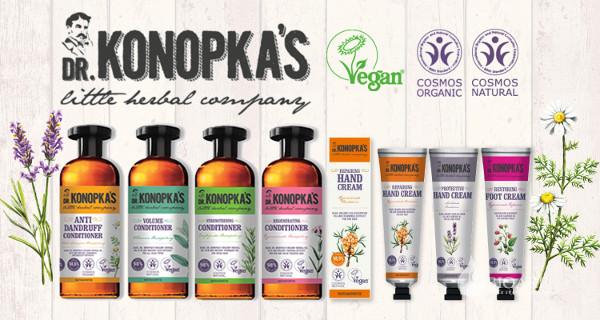 Шампуни для волос Dr. Konopka's