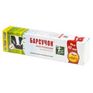 Мазь Барсучок: инструкция по применению для детей от кашля