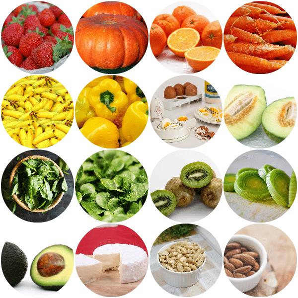 Содержание фолиевой кислоты в продуктах