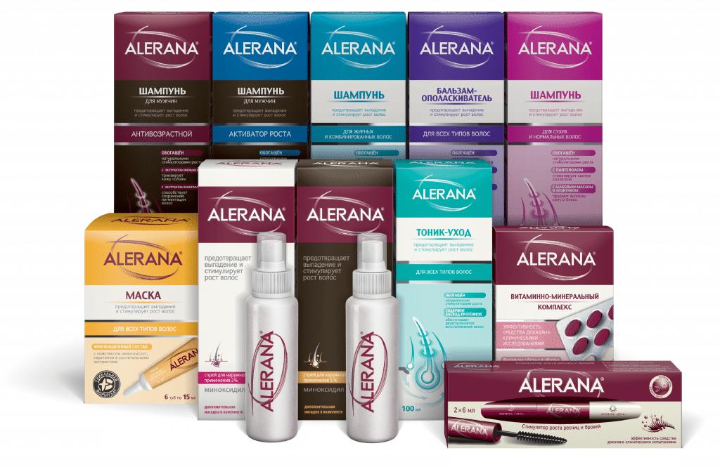 Шампуни для волос Alerana