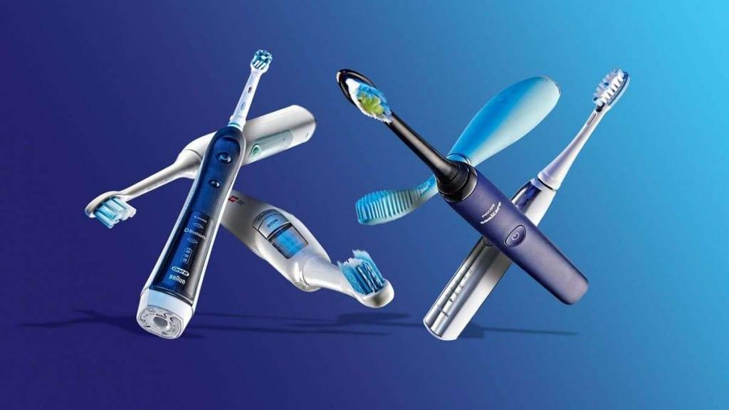 как пользоваться электрической зубной щеткой