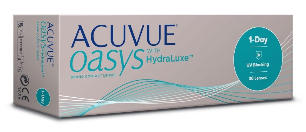 Однодневные контактные линзы Acuvue oasys with Hydraluxe