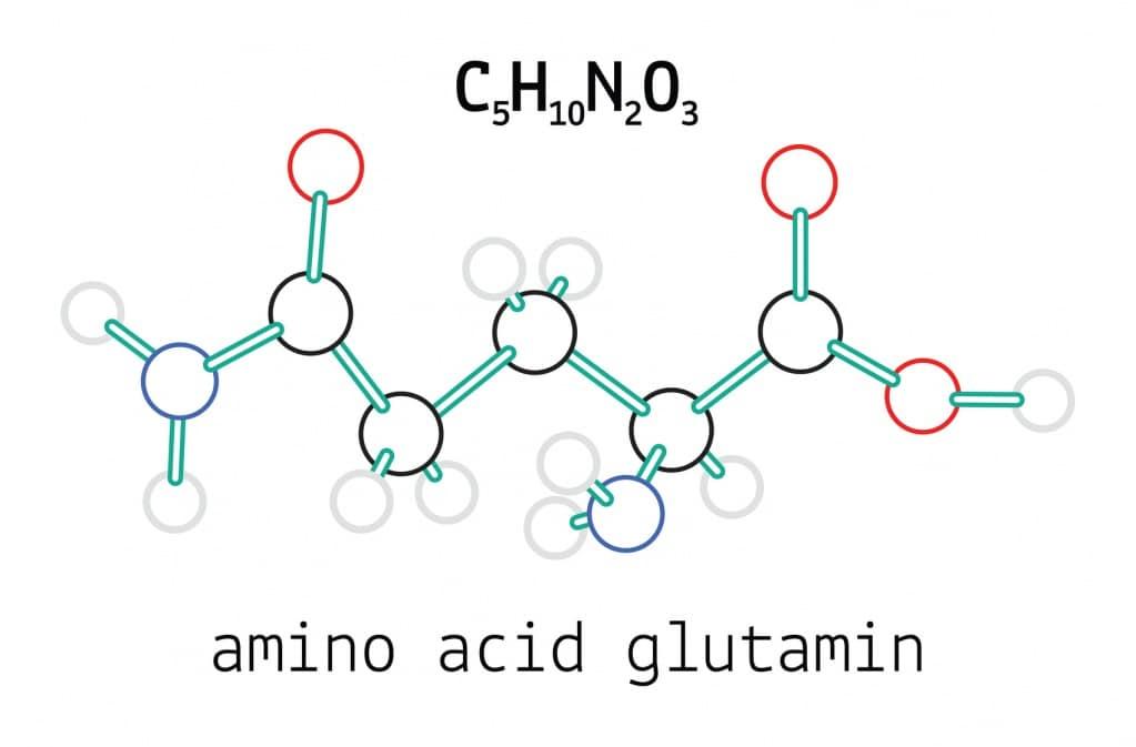 Структурная формула Глутамина