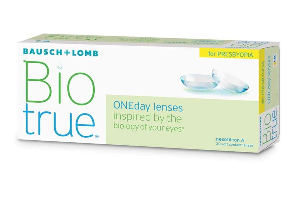 Однодневные контактные линзы Bausch & Lomb Biotrue ONEday
