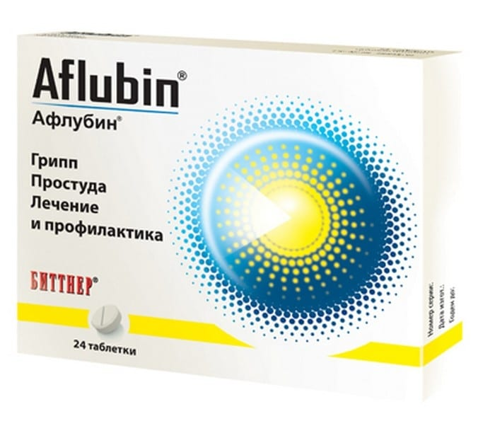 Афлубин таблетки