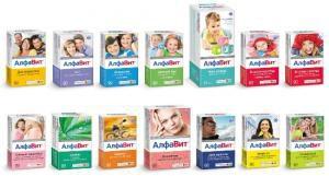 Витамины Алфавит: инструкция по применению и противопоказания