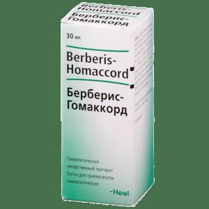 Берберис-Гомаккорд: инструкция по применению и отзывы