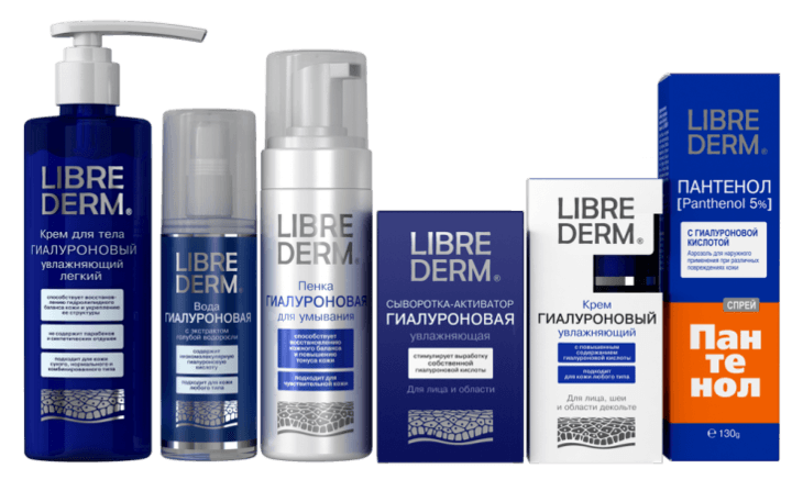 Шампуни для волос Libriderm