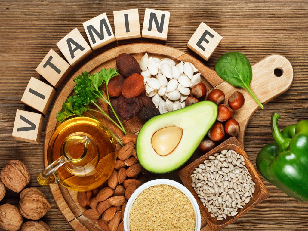 Свойства витамина е