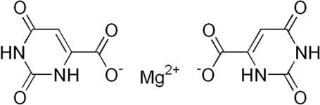Структурная формула Оротата магния