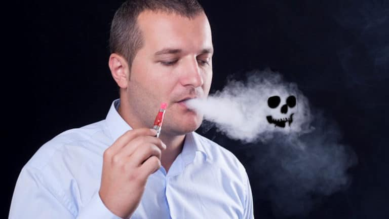 Опасные электронные сигареты со вкусом мяты