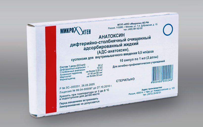 Вакцина АДС