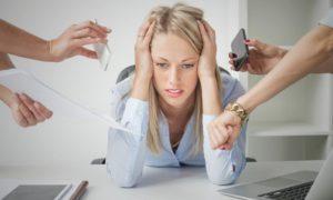 Признаки состояния стресса