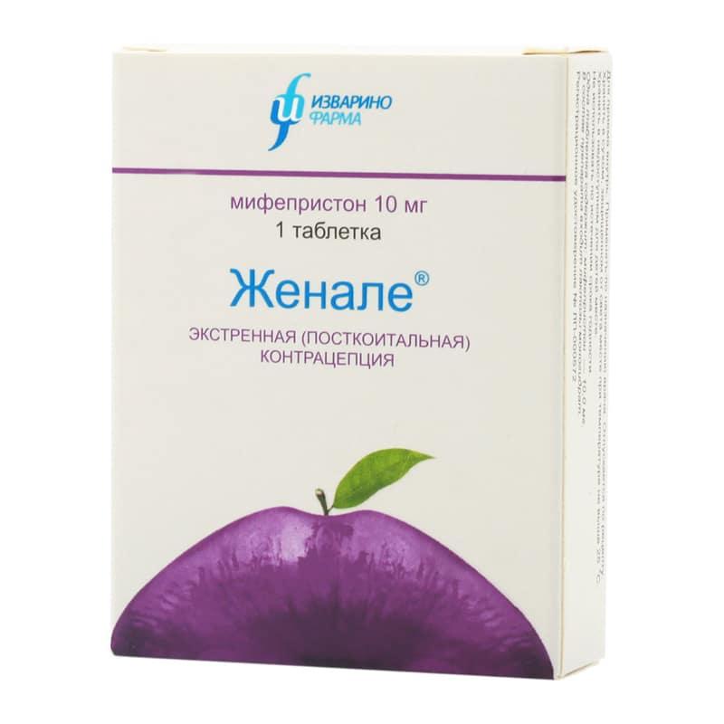 Женале - таблетки гормональной контрацепции