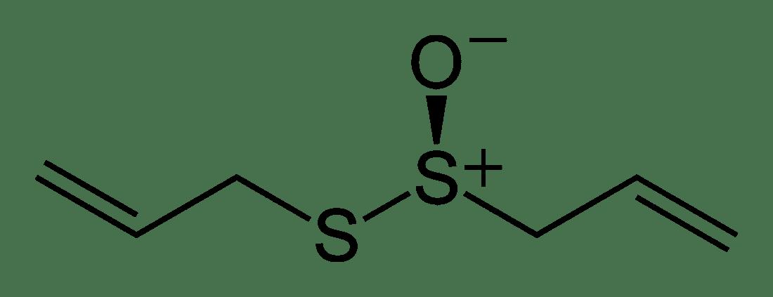 Структурная формула Аллицина C6H10OS2
