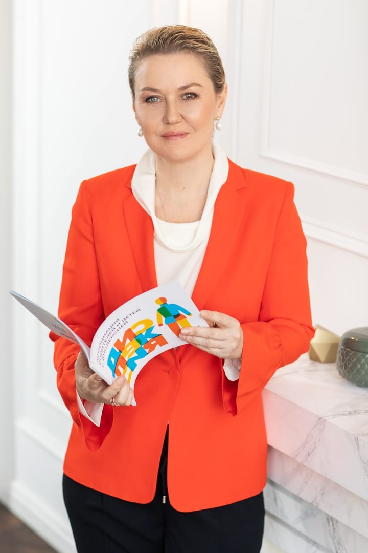 Мария Пиотровская - общественный деятель и мама ребёнка с дислексией. Основатель Ассоциации Родителей и Детей с Дислексией и др. трудностями обучения