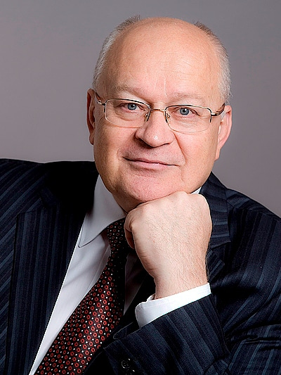 Виктор Михайлович Черепов, д.м.н., заслуженный врач России, председатель комиссии по здоровью и Исполнительный вице-президент РСПП