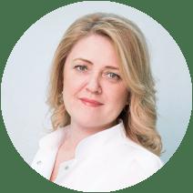 Платова Елена Сергеевна, заведующая гинекологическим отделением, кандидат медицинских наук