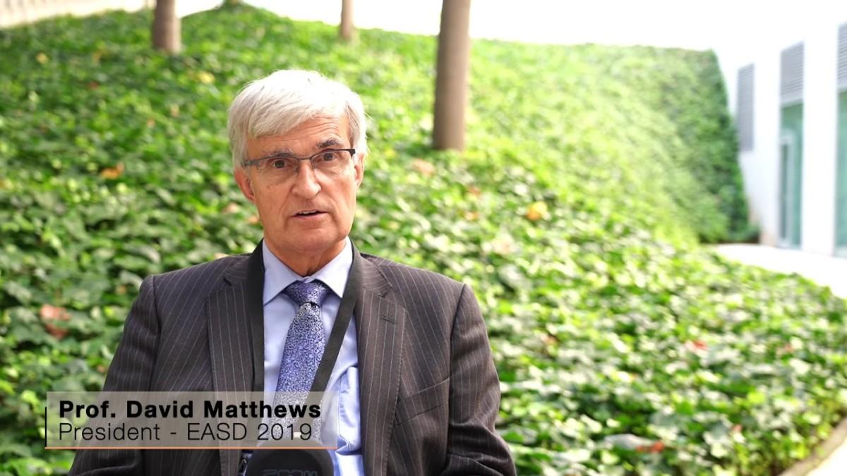 Дэвид Мэтьюз (David Matthews), президент EASD и почетный профессор медицины Оксфордского университета, Великобритания