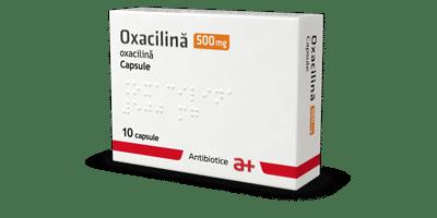 Оксациллин 500 мг капсулы