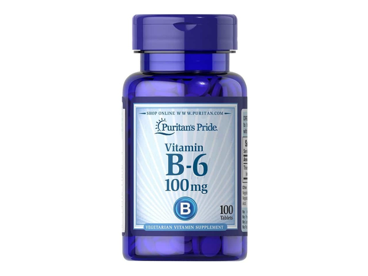 Витамин B6 100 мг